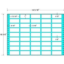 【送料無料】東洋印刷 MX14W タックフォームラベル 14 5/ 10インチ×10 3/ 6インチ 45面付(1ケース500折)【在庫目安:お取り寄せ】| ラベル シール シート シール印刷 プリンタ 自作