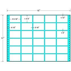 【送料無料】東洋印刷 MT15B タックフォームラベル 15インチ×11インチ 30面付(1ケース500折)【在庫目安:お取り寄せ】| ラベル シール シート シール印刷 プリンタ 自作