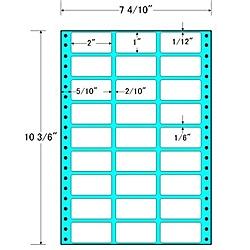 【送料無料】東洋印刷 MT7L タックフォームラベル 7 4/ 10インチ×10 3/ 6インチ 27面付(1ケース1000折)【在庫目安:お取り寄せ】| ラベル シール シート シール印刷 プリンタ 自作