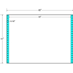 【送料無料】東洋印刷 MT15G タックフォームラベル 15インチ×11インチ 1面付(1ケース500折)【在庫目安:お取り寄せ】| ラベル シール シート シール印刷 プリンタ 自作
