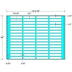 【送料無料】東洋印刷 MT13H タックフォームラベル 13 4/ 10インチ×10インチ 60面付(1ケース500折)【在庫目安:お取り寄せ】| ラベル シール シート シール印刷 プリンタ 自作