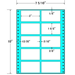 【送料無料】東洋印刷 MT7E タックフォームラベル 7 5/ 10インチ×10インチ 10面付(1ケース1000折)【在庫目安:お取り寄せ】| ラベル シール シート シール印刷 プリンタ 自作