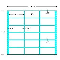 【送料無料】東洋印刷 MT12L タックフォームラベル 12 5/ 10インチ×11インチ 18面付(1ケース500折)【在庫目安:お取り寄せ】| ラベル シール シート シール印刷 プリンタ 自作