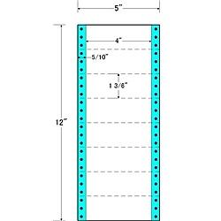 【送料無料】東洋印刷 MX5A タックフォームラベル 5インチ×12インチ 8面付(1ケース1000折)【在庫目安:お取り寄せ】| ラベル シール シート シール印刷 プリンタ 自作