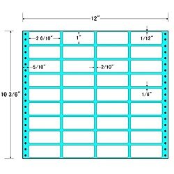 【送料無料】東洋印刷 MX12B タックフォームラベル 12インチ×10 3/ 6インチ 36面付(1ケース500折)【在庫目安:お取り寄せ】| ラベル シール シート シール印刷 プリンタ 自作