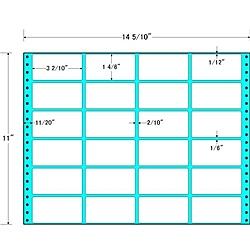 【送料無料】東洋印刷 M14Q タックフォームラベル 14 5/ 10インチ×11インチ 24面付(1ケース500折)【在庫目安:お取り寄せ】| ラベル シール シート シール印刷 プリンタ 自作
