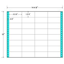 【送料無料】東洋印刷 MH14K タックフォームラベル 14 4/ 8インチ×12インチ 32面付(1ケース500折)【在庫目安:お取り寄せ】| ラベル シール シート シール印刷 プリンタ 自作