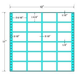 【送料無料】東洋印刷 MX12I タックフォームラベル 12インチ×11インチ 24面付(1ケース500折)【在庫目安:お取り寄せ】| ラベル シール シート シール印刷 プリンタ 自作