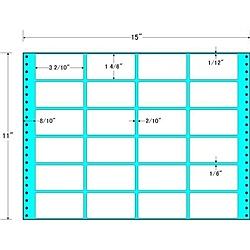 【送料無料】東洋印刷 M15O タックフォームラベル 15インチ×11インチ 24面付(1ケース500折)【在庫目安:お取り寄せ】  ラベル シール シート シール印刷 プリンタ 自作
