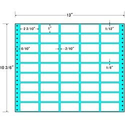 【送料無料】東洋印刷 R13P タックフォームラベル 13インチ×10 3/ 6インチ 45面付(1ケース500折)【在庫目安:お取り寄せ】| ラベル シール シート シール印刷 プリンタ 自作