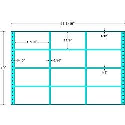 【送料無料】東洋印刷 MH15N タックフォームラベル 15 5/ 10インチ×10インチ 12面付(1ケース500折)【在庫目安:お取り寄せ】| ラベル シール シート シール印刷 プリンタ 自作