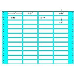 【送料無料】東洋印刷 M15K タックフォームラベル 15インチ×11インチ 48面付(1ケース500折)【在庫目安:お取り寄せ】| ラベル シール シート シール印刷 プリンタ 自作