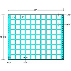 【送料無料】東洋印刷 MT13R タックフォームラベル 13インチ×10 3/ 6インチ 90面付(1ケース500折)【在庫目安:お取り寄せ】| ラベル シール シート シール印刷 プリンタ 自作