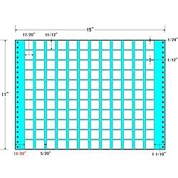 【送料無料】東洋印刷 MX15S タックフォームラベル 15インチ×11インチ 132面付(1ケース500折)【在庫目安:お取り寄せ】| ラベル シール シート シール印刷 プリンタ 自作
