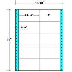 【送料無料】東洋印刷 MM7E タックフォームラベル 7 8/ 10インチ×10インチ 10面付(1ケース1000折)【在庫目安:お取り寄せ】| ラベル シール シート シール印刷 プリンタ 自作