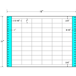 【送料無料】東洋印刷 MT15A タックフォームラベル 15インチ×11インチ 60面付(1ケース500折)【在庫目安:お取り寄せ】| ラベル シール シート シール印刷 プリンタ 自作