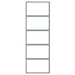 【送料無料】東洋印刷 TMR-3A PDラベルAタイプ ヨコ5面付(再剥離タイプ)(サーマルプリンタ対応)(2000折)【在庫目安:お取り寄せ】| ラベル シール シート シール印刷 プリンタ 自作