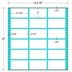 【送料無料】東洋印刷 MT12P タックフォームラベル 12 5/ 10インチ×13インチ 18面付(1ケース500折)【在庫目安:お取り寄せ】| ラベル シール シート シール印刷 プリンタ 自作