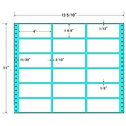 【送料無料】東洋印刷 MT13M タックフォームラベル 13 5/ 10インチ×11インチ 18面付(1ケース500折)【在庫目安:お取り寄せ】| ラベル シール シート シール印刷 プリンタ 自作