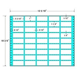 【送料無料】東洋印刷 RT13X タックフォームラベル 13 5/ 10インチ×10 3/ 6インチ 45面付(1ケース500折)【在庫目安:お取り寄せ】| ラベル シール シート シール印刷 プリンタ 自作