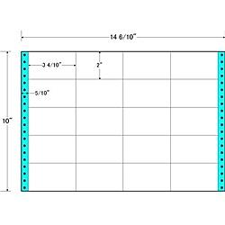 【送料無料】東洋印刷 M14O タックフォームラベル 14 6/ 10インチ×10インチ 20面付(1ケース500折)【在庫目安:お取り寄せ】| ラベル シール シート シール印刷 プリンタ 自作