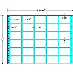【送料無料】東洋印刷 MX13P タックフォームラベル 13 5/ 10インチ×10インチ 30面付(1ケース500折)【在庫目安:お取り寄せ】| ラベル シール シート シール印刷 プリンタ 自作