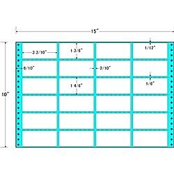【送料無料】東洋印刷 MH15Y タックフォームラベル 15インチ×10インチ 24面付(1ケース500折)【在庫目安:お取り寄せ】| ラベル シール シート シール印刷 プリンタ 自作
