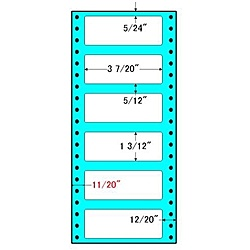 【送料無料】東洋印刷 R4I タックフォームラベル 4 5/ 10インチ×10インチ 6面付(1ケース1000折)【在庫目安:お取り寄せ】| ラベル シール シート シール印刷 プリンタ 自作