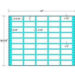 【送料無料】東洋印刷 MX14R タックフォームラベル 14インチ×10 3/ 6インチ 45面付(1ケース500折)【在庫目安:お取り寄せ】| ラベル シール シート シール印刷 プリンタ 自作