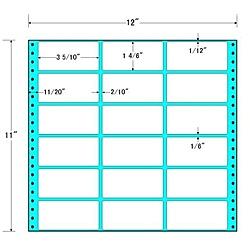 【送料無料】東洋印刷 M12P タックフォームラベル 12インチ×11インチ 18面付(1ケース500折)【在庫目安:お取り寄せ】| ラベル シール シート シール印刷 プリンタ 自作