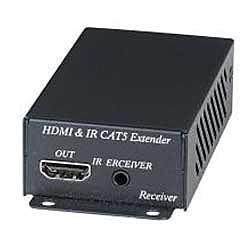 【送料無料】ジョブル HE02EIR HDMI・赤外線CAT5e長距離伝送受信器【在庫目安:お取り寄せ】