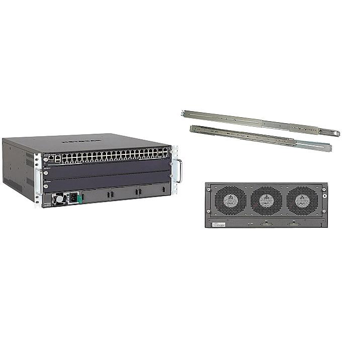 【送料無料】NETGEAR XCM8903SK-10000S M6100 「ライフタイム保証」 3スロットシャーシスイッチスターターキット【在庫目安:お取り寄せ】