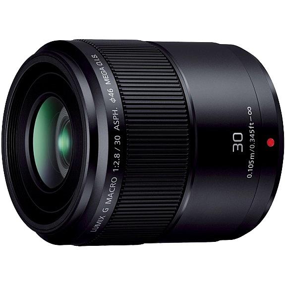 【送料無料】Panasonic H-HS030 デジタル一眼カメラ用交換レンズ LUMIX G MACRO 30mm/ F2.8 ASPH./ MEGA O.I.S. (ブラック)【在庫目安:お取り寄せ】