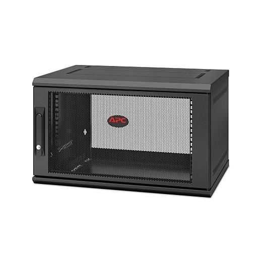 【送料無料】シュナイダーエレクトリック AR106SH4 NetShelter WX 6U Single Hinged Wall-mount Enclosure 400mm Deep【在庫目安:お取り寄せ】