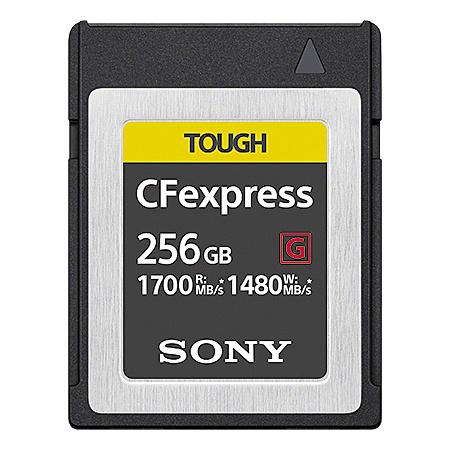 【送料無料】SONY(VAIO) CEB-G256 CFexpress Type B メモリーカード 256GB【在庫目安:お取り寄せ】