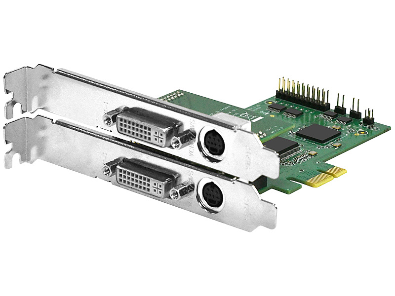 【送料無料】IODATA GV-SVD2VR DVI/ S-Video入力(パススルー)対応 ソフトウェアエンコード型 PCIeキャプチャーボード【在庫目安:お取り寄せ】