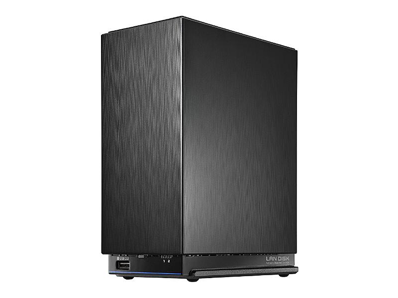 【送料無料】IODATA HDL2-AAX8 デュアルコアCPU搭載 ネットワーク接続ハードディスク(NAS) 2ドライブモデル 8TB【在庫目安:お取り寄せ】| NAS RAID レイド