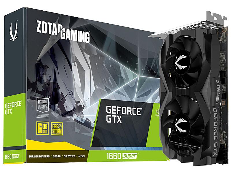 【送料無料】アスク ZTGTX1660S-6GBTWIN ZOTAC GAMING GeForce GTX 1660 SUPER Twin Fan【在庫目安:お取り寄せ】| パソコン周辺機器 グラフィックボード グラフィックカード グラボ ビデオカード グラフィック ビデオ パソコン 交換