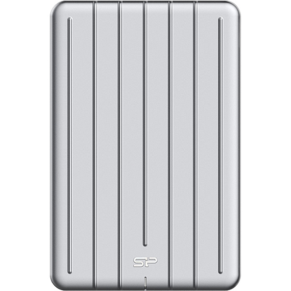 【送料無料】シリコンパワー SP256GBPSDB75SCS USB3.1(Gen1)対応 ポータブルSSD Bolt B75 256GB【在庫目安:お取り寄せ】| パソコン周辺機器 外付けSSD 外付SSD 外付け 外付 SSD 耐久 省電力 フラッシュディスク フラッシュ
