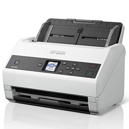 【送料無料】EPSON DS-970 A4シートフィードスキャナー/ 600dpi/ A4片面85枚/分/ 1.44型LCDパネル搭載/ 両面同時読取【在庫目安:お取り寄せ】