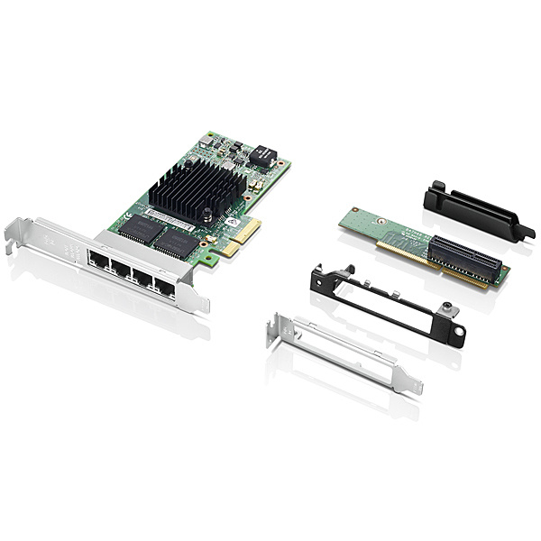 【送料無料】Lenovo 4XC0R41416 インテル I350-T4 4ポート搭載イーサネット拡張カード【在庫目安:お取り寄せ】| パソコン周辺機器 LANカード LANボード LAN アダプター アダプタ PC パソコン LAN拡張