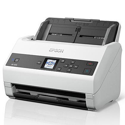 【送料無料】EPSON DS-870 A4シートフィードスキャナー/ 600dpi/ A4片面65枚/分/ 1.44型LCDパネル搭載/ 両面同時読取【在庫目安:お取り寄せ】