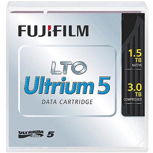 【送料無料】富士フイルム LTO FB UL-5 1.5T JX5 LTO Ultrium5 データカートリッジ 1.5/ 3.0TB 5巻パック【在庫目安:僅少】