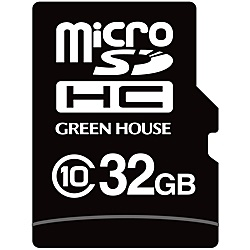 【送料無料】グリーンハウス GH-SDMI-WMA32G インダストリアルmicroSDHCカード MLC -25~+85℃ 32GB【在庫目安:お取り寄せ】