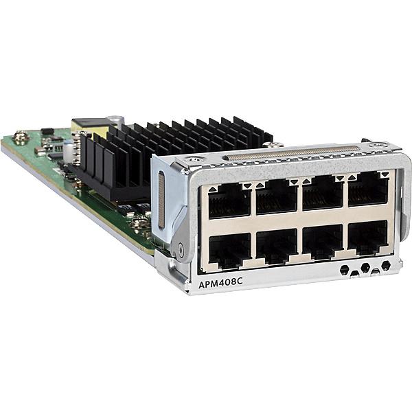【送料無料】NETGEAR APM408C-10000S APM408C 「ライフタイム保証」 M4300-96X用 8ポート 10GBASE-T カード【在庫目安:お取り寄せ】| パソコン周辺機器 ラインカード ラインモジュール 拡張モジュール モジュール 拡張 PC パソコン