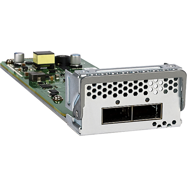 【送料無料】NETGEAR APM402XL-10000S APM402XL 「ライフタイム保証」 M4300-96X用 2ポート QSFP+ カード【在庫目安:お取り寄せ】| パソコン周辺機器 ラインカード ラインモジュール 拡張モジュール モジュール 拡張 PC パソコン