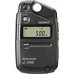 【送料無料】セコニック 011413 SEKONIC 照度計 イルミノメーター i-346【在庫目安:お取り寄せ】