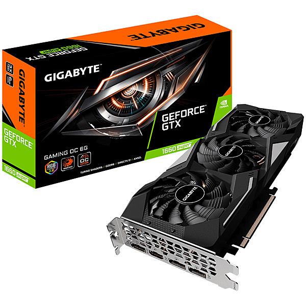 【送料無料】GIGABYTE GV-N166SGAMING OC-6GD NVIDIA GeForce GTX1660 Super搭載 グラフィックボード 6GB GAMINGモデル【在庫目安:お取り寄せ】| パソコン周辺機器 グラフィックボード