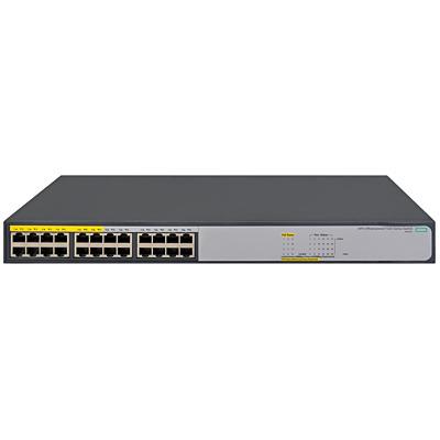 【送料無料】 JH019A#ACF HPE OfficeConnect 1420-24G-PoE+ (124W) Switch【在庫目安:お取り寄せ】