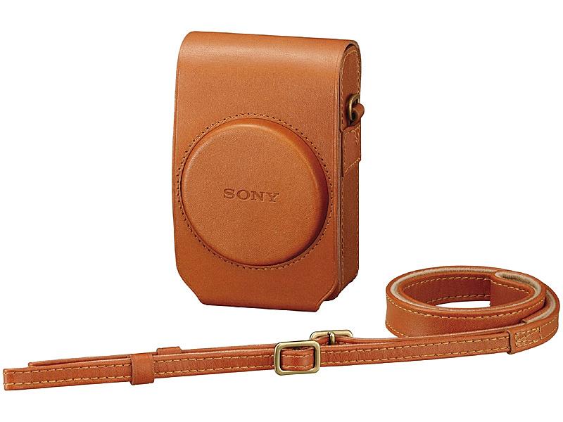 【送料無料】SONY LCS-RXG/T ソフトキャリングケース ブラウン【在庫目安:お取り寄せ】  サプライ カメラバッグ カメラ バックパック リュックサック バッグ キャリングケース 収納 コンデジ コンパクトデジタルカメラ